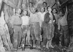 I minatori in galleria